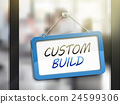 custom build hanging sign 24599306