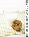 餅乾 牛奶 食品 24599766