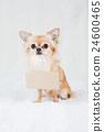 動物 小狗 名簽 24600465