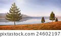 Nature Landscape Suburb Solitude Tranquil Remote Concept 24602197
