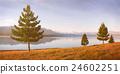 Nature Landscape Suburb Solitude Tranquil Remote Concept 24602251