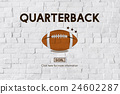 Quarterback Physical Education Rugby Sport Concept 24602287