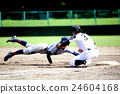 棒球 奔跑者 人 24604168