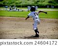 棒球 奔跑者 人 24604172