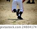 棒球 奔跑者 人 24604174