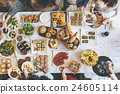 Food Cuisine Culinary Buffet Party Concept 24605114