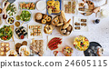Food Cuisine Culinary Buffet Party Concept 24605115