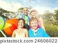 Family Happiness Parents Holiday Vacation Activity Concept 24606022