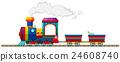 火车 火车头 机车 24608740