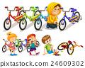 set, bike, stealing 24609302