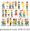 Vector illustration of children  24612130