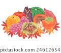 秋之美食 水果 食品 24612654