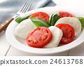 卡普雷塞 马苏里拉 西红柿 24613768