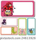 label sticker frame 24613926