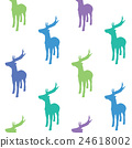 colorful deers 24618002
