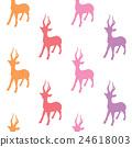 colorful deers 24618003