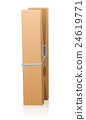 Wooden Clothespin 24619771