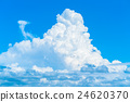 Summer cloud cover 24620370