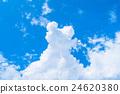天空 雷云 积雨云 24620380