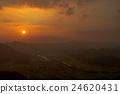 风景 日落 夕阳 24620431