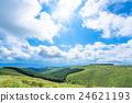 【长野县】山的自然景观【夏天】 24621193