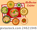 Moldavian cuisine tasty dinner icon 24621946