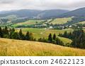 forest, mountain, village 24622123