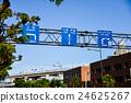 神戸国道2号線の道路標識 24625267