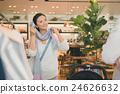 購物 拖延 女用披肩 24626632