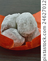 red bean mochi, daifuku, snack 24627012
