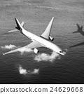 飞机 出发 飞行 24629668