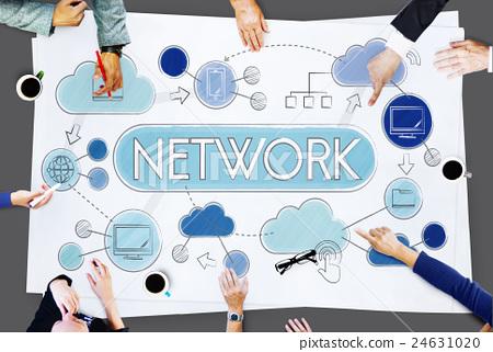 Network Communication Connection Internet Concept 24631020
