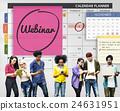 Webinar Technology Webcast Website Concept 24631951