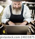 Carpenter Craftmanship Carpentry Handicraft Wooden Workshop Concept 24633875