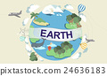 Earth Ecology Environment Conservation Globe Concept 24636183