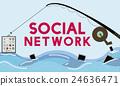 Social Network Online Internet Connection Concept 24636471
