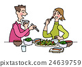 health food, heterosexual couple, person 24639759