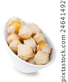 Physalis berries in white porcelain bowl 24641492