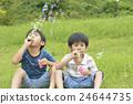 soap bubbles, soap bubble, younger 24644735