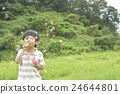 soap bubbles, soap bubble, younger 24644801