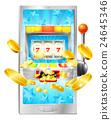 Slot Machine Mobile Phone Concept 24645346