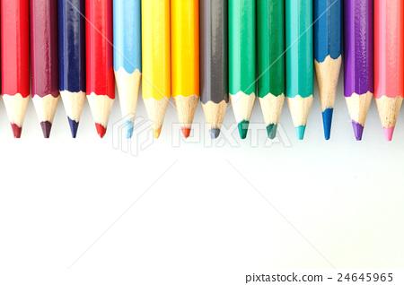 Colorful Multi-Color Of Pencil 24645965