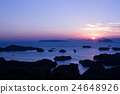 九十九島 風景 晚上 24648926