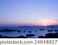 九十九島 風景 晚上 24648927