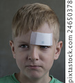 boy with a plaster 24650378