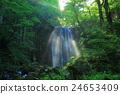 瀑布 光束 旅遊勝地 24653409
