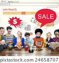 Online Shopping Marketing Sale Promotion Concept 24658707