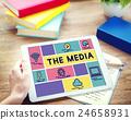 Media Computer Communication Intrnet Information Concept 24658931