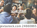 Come Together Celebration Bonding Friends Party Concept 24660865