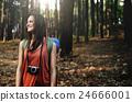 Camping Camera Walking Nature Photot Concept 24666001